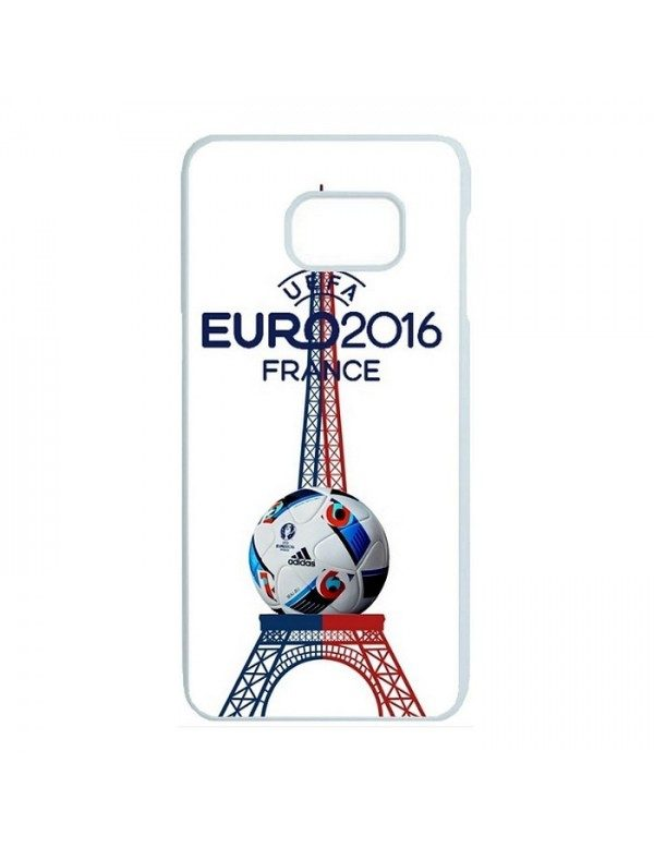Coque rigide Samsung Galaxy S7 Edge - France tour eiffel euro 2016