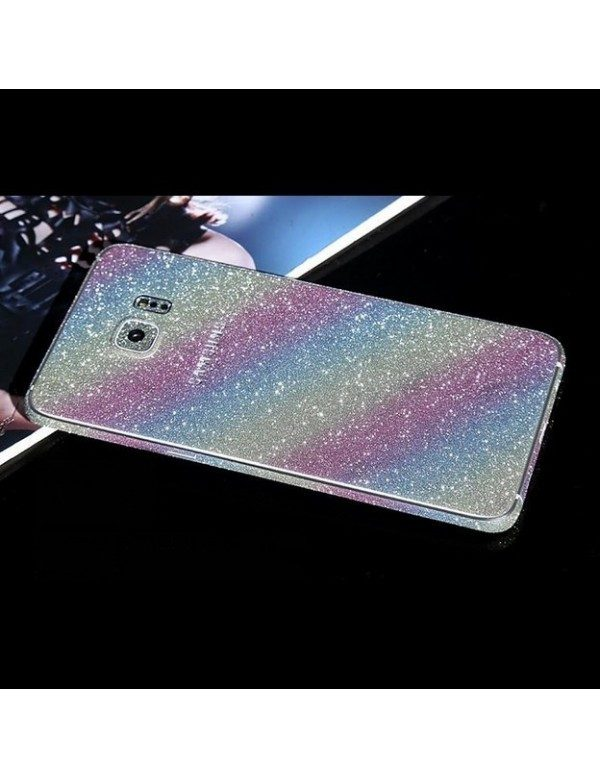 Stickers Samsung Galaxy S6 Edge plus - Strass Arc en ciel