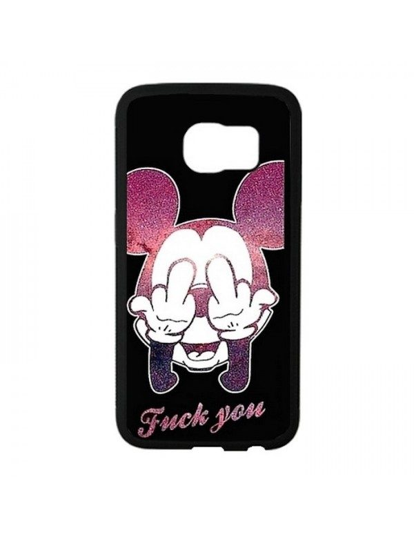 Coque Samsung Galaxy S6 Fuck you Mickey