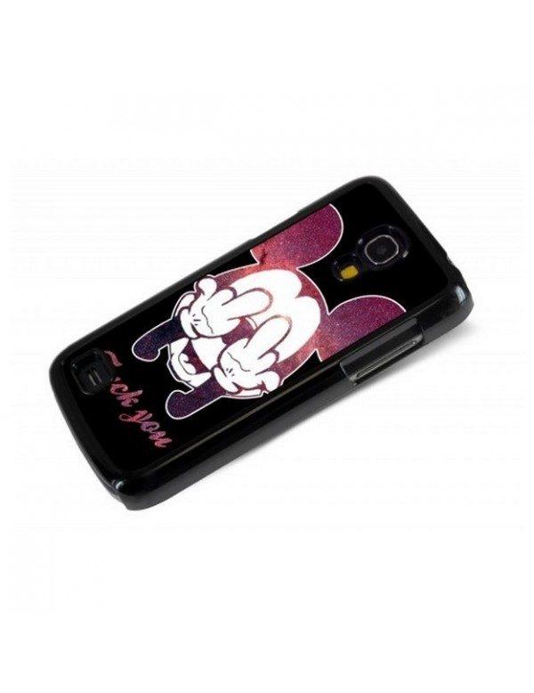 Coque Samsung Galaxy S4 Mini Fuck you Mickey