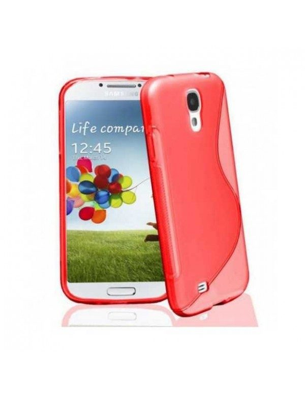 Coque s-line silicone rouge samsung galaxy grand 2
