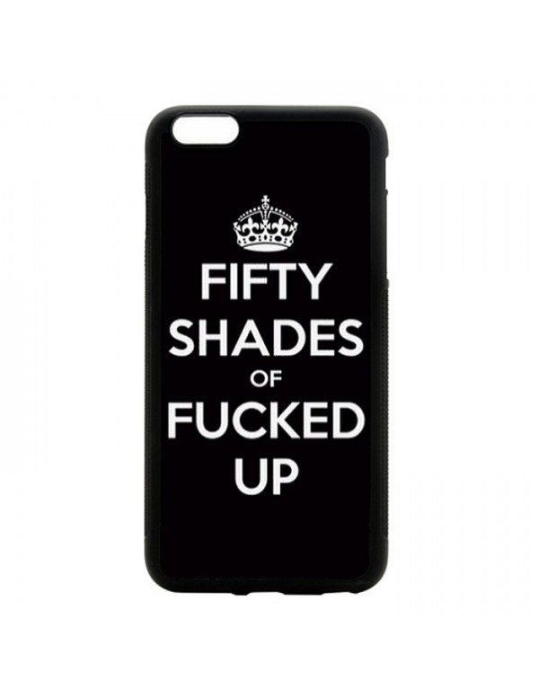 """Coque iPhone 6 Plus 6S Plus 5.5"""" Fifty shades of Fucked up"""