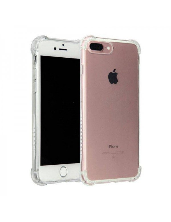 Coque en silicone ultra transparent pour iPhone X/XS modèle airbag 2.0mm