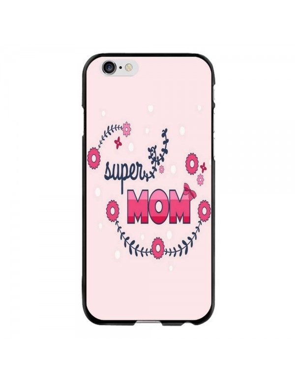 Coque Rigide iPhone 6 PLUS/6S PLUS - Super Mom Rose