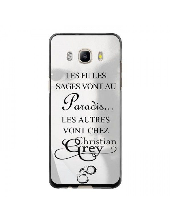 Coque rigide Samsung Galaxy J5 de 2016 - Christian Grey - Menottes