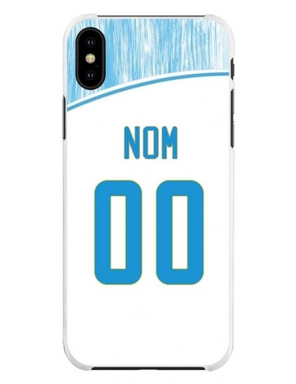 Coque Football personnalisable iPhone XS MAX - Marseille OM domicile
