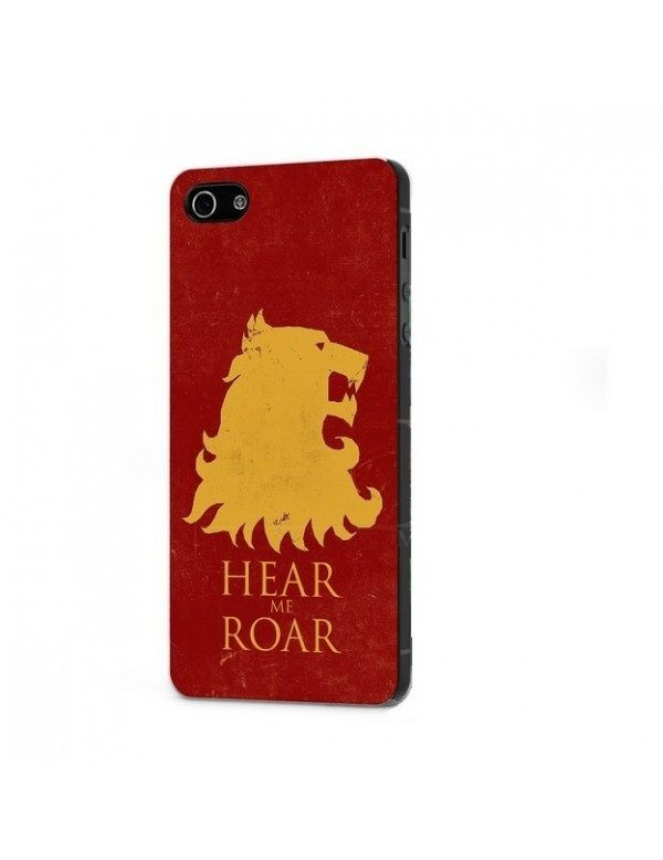 "iPhone 5/5S Coque rigide ""Game Of Thrones Hear me roar"""