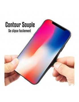 iPhone 7 Plus/8 Plus - Coque personnalisable - Contour Souple Transparent