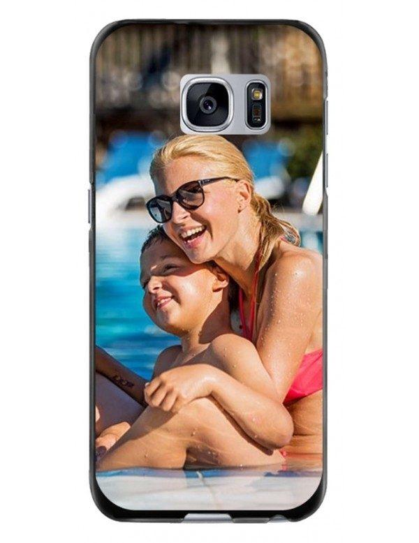 Samsung Galaxy S7 - Coque personnalisable - Souple Noir