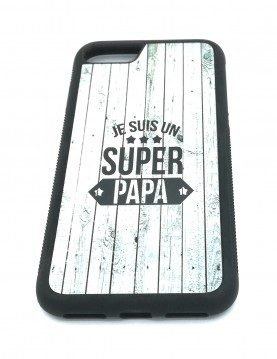 Coque rigide pour iPhone 7/8 - Super papa