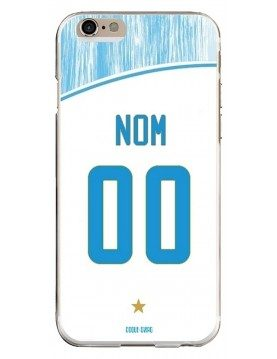 Coque Football personnalisable iPhone 6/6S - Marseille OM domicile