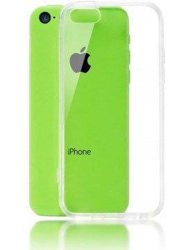 Coque en silicone ultra transparente pour iPhone 5C