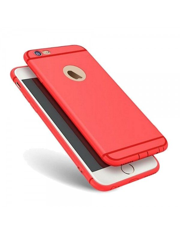 Coque silicone iPhone 6/6S - ROUGE