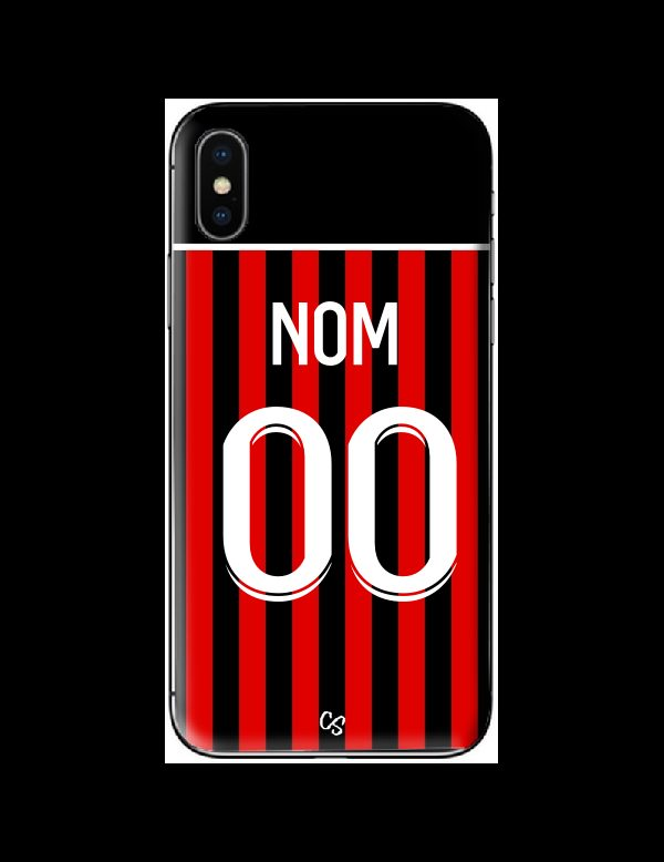 COQUE MAILLOT FOOT - NICE DOMICILE 2021/2022 - PERSONNALISABLE