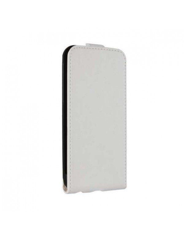 Etui à clapet iPhone 6 Plus/6S Plus - Flipcover by Xqisit - Blanc